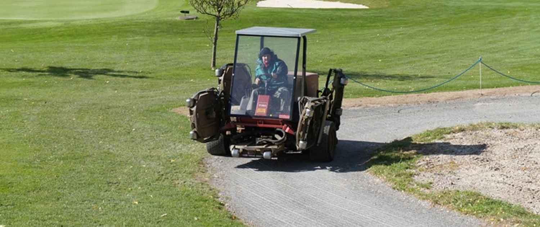 Ecoraster Golfplatz