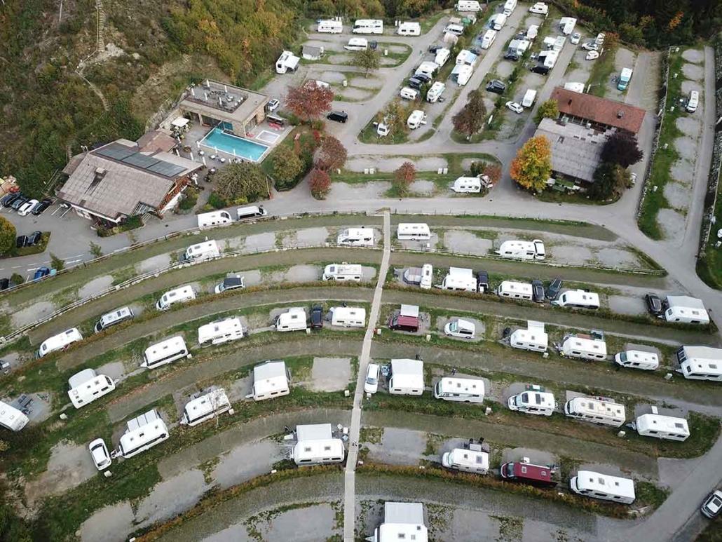 Alpencamping Luftbild