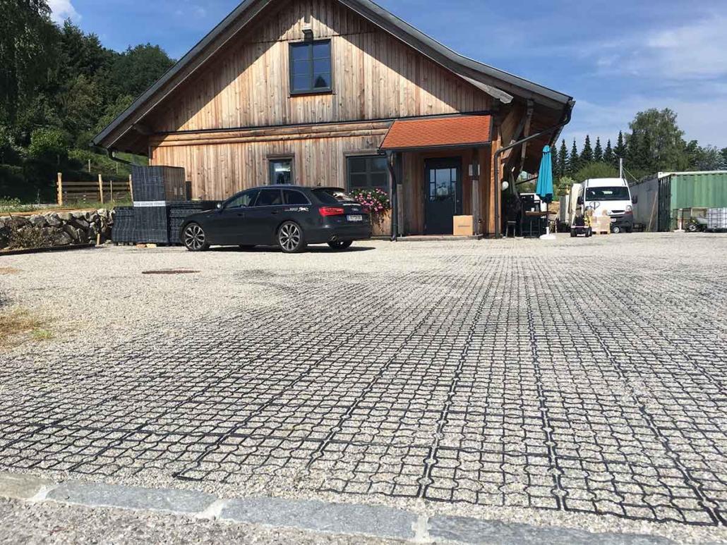 Geroldinger Parkplatz