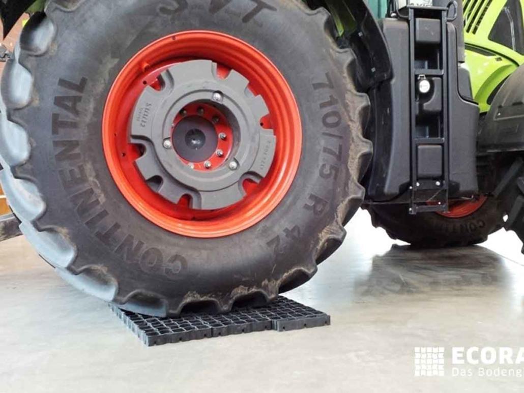 Ecoraster Belastbarkeit Traktor