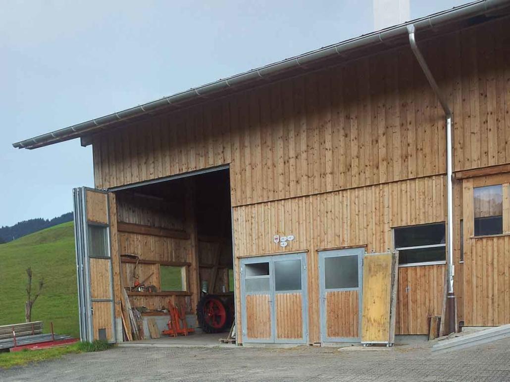 Ecoraster Stall