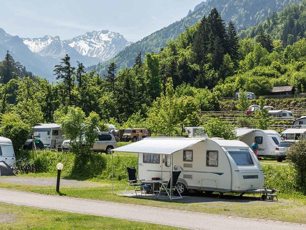 Campingplatz versiegelungsfrei