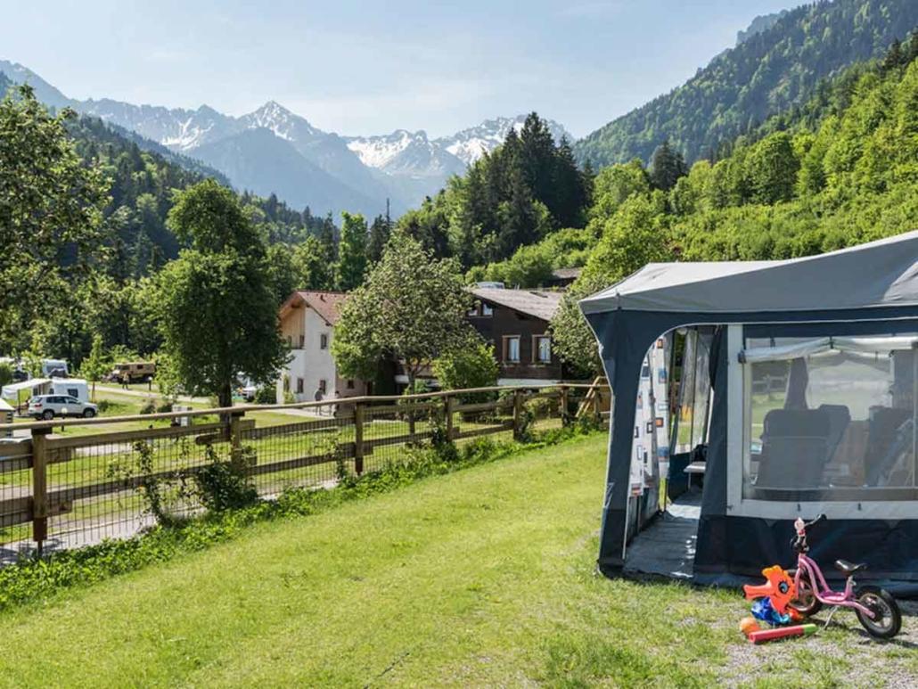 Alpencamping Bodengitter