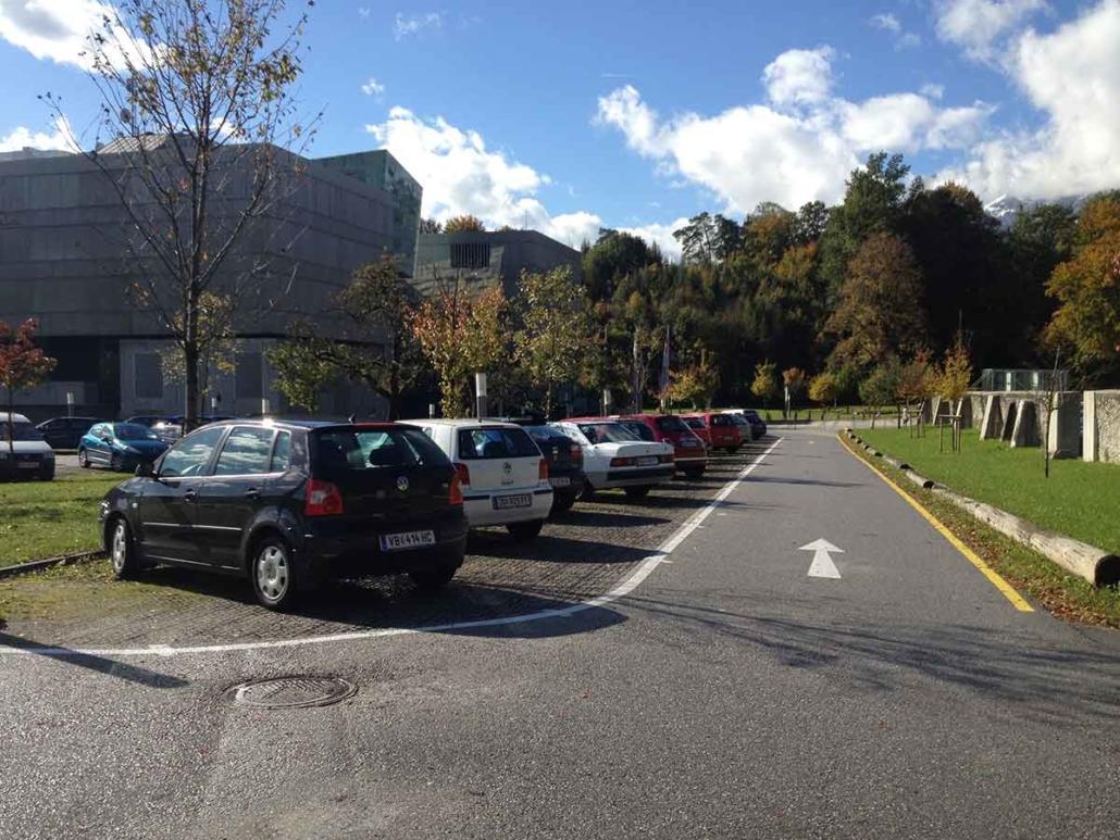 Urstein Parkplatz Ecoraster